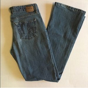 Levi's Signature Boot Cut Blue Jeans